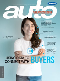 Women on Front Page of Auto Magazine.